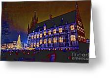Gouda By Candlelight-1 Greeting Card