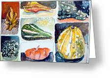 Gourd Collection Greeting Card