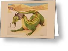 Gourd Dragon Greeting Card