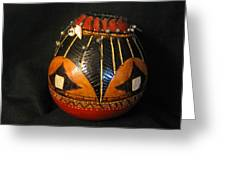 Gourd With Abalone Greeting Card