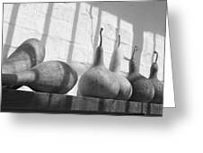 Gourds On A Shelf Greeting Card
