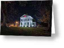 Governor John Wood Mansion Greeting Card