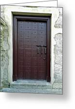 Governors Door Greeting Card
