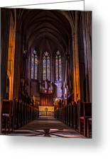 Grace Cathedral  Greeting Card