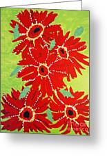 Grace Flowers Greeting Card