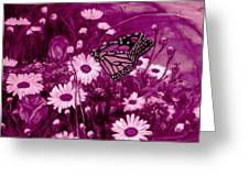 Grace In Pink Greeting Card
