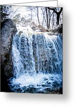 Grace Is A Waterfall Greeting Card