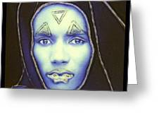 gRace jOnes one Greeting Card