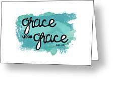 Grace Greeting Card