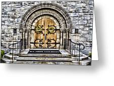 Grace - St Ann Church Greeting Card