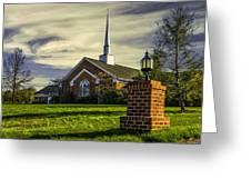 Grace United Methodist Church Greeting Card