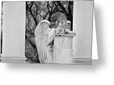 Graceland Cemetery Angel Greeting Card