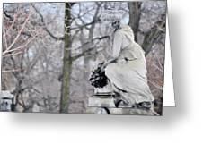Graceland Cemetery Greeting Card