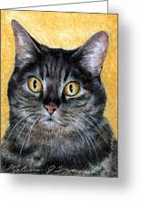 Gracie Greeting Card by Melissa J Szymanski