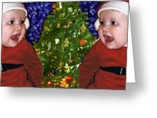 Gracies Christmas Tree Greeting Card