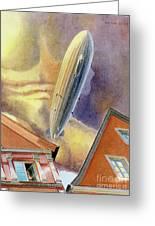 Graf Zeppelin Greeting Card