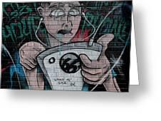 Graffiti 13 Greeting Card