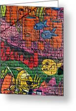 Graffiti 20 Greeting Card