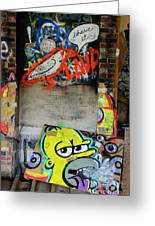 Graffiti 5 Greeting Card