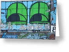 Graffiti #5781 Greeting Card