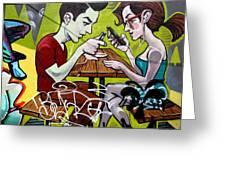 Graffiti 7 Greeting Card