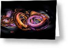 Graffiti Abstract Greeting Card