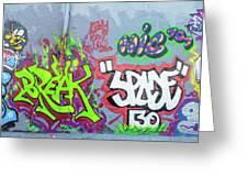 Graffiti Art 05102017a Greeting Card