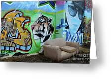 Graffiti Art Albuquerque New Mexico 7 Greeting Card