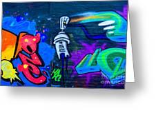 Graffiti Art Nyc 14 Greeting Card