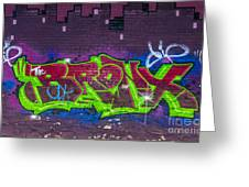 Graffiti Art Nyc 2 Greeting Card