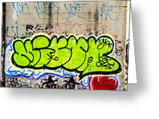 Graffiti Art Nyc 3 Greeting Card