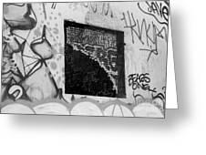 Graffiti At Fountain Grove Winery Greeting Card