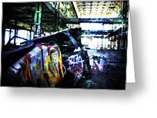Graffiti Car Greeting Card