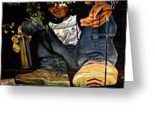Graffiti Man Greeting Card
