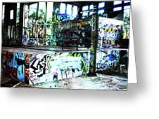 Graffiti Greeting Card