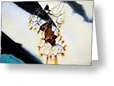 Graffiti Texture II Greeting Card
