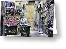 Grafitti Alley Greeting Card