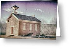 Grafton Church Side Old Look Greeting Card