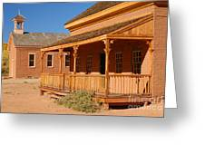 Grafton Ghost Town Greeting Card