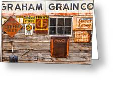 Graham Grain Company Greeting Card