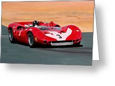 Graham Hill Greeting Card