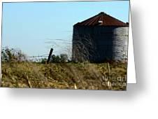 Grain Bin Greeting Card