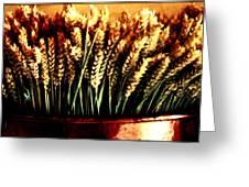 Grain In Copper Pot Greeting Card