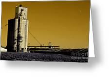 Grain Storage Infrared No2 Greeting Card