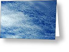 Grainy Sky Greeting Card