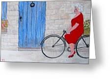 Gran In Provence Greeting Card