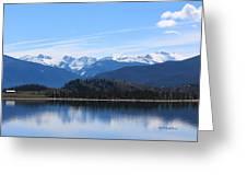 Granby Lake Greeting Card
