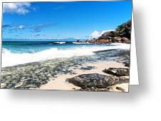 Grand Anse Beach Greeting Card