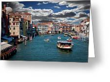 Grand Canal Daylight Greeting Card
