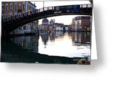 Grand Canal In Venice At Sunrise Greeting Card